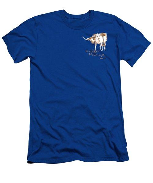 Logo Longhorn For Shirt Pocket Men's T-Shirt (Athletic Fit)