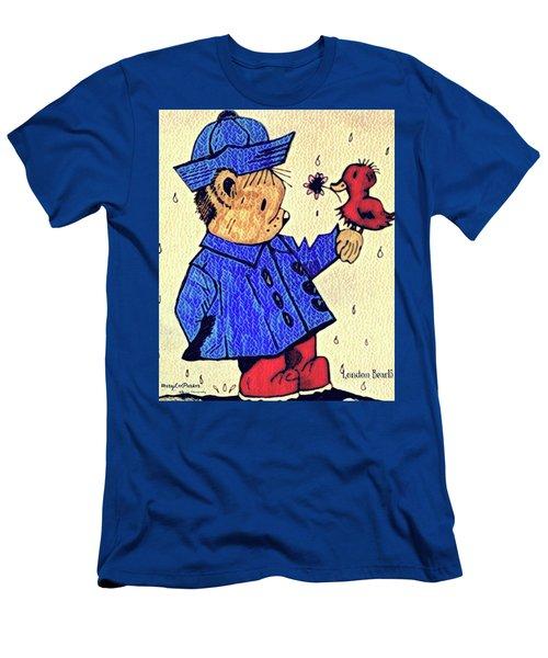 Londonbear And Bensonduck  Men's T-Shirt (Athletic Fit)