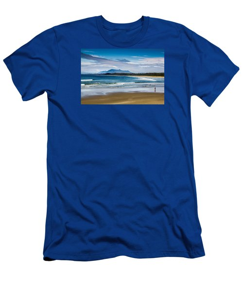 Long Beach, B.c Men's T-Shirt (Athletic Fit)