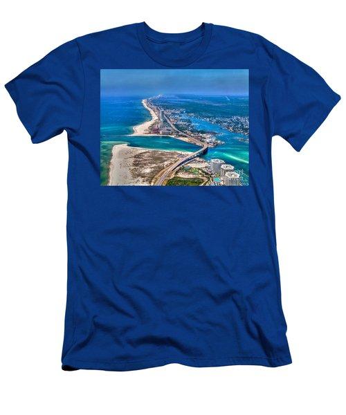 Looking West Across Perdio Pass Men's T-Shirt (Athletic Fit)
