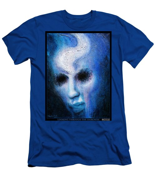 Looking Through The Darkness Men's T-Shirt (Athletic Fit)