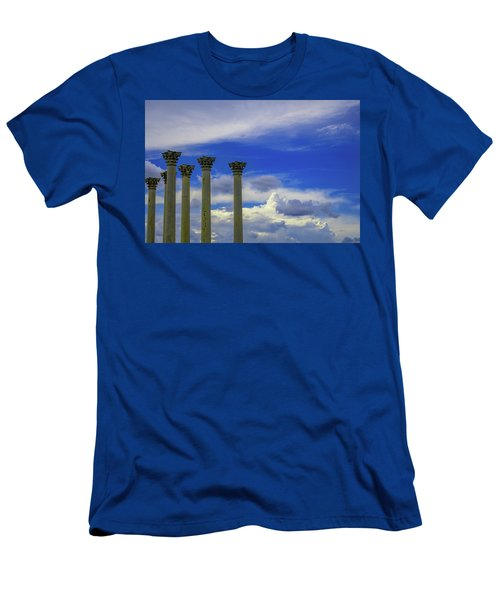 Looking Towards Olympus  Men's T-Shirt (Athletic Fit)