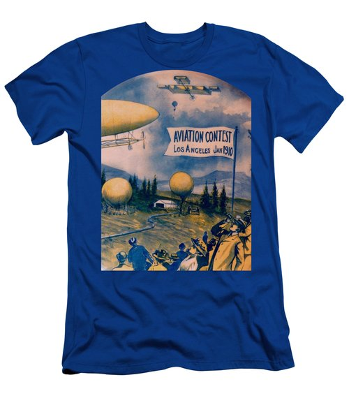 Los Angeles Aviation Contest 1910 Men's T-Shirt (Athletic Fit)