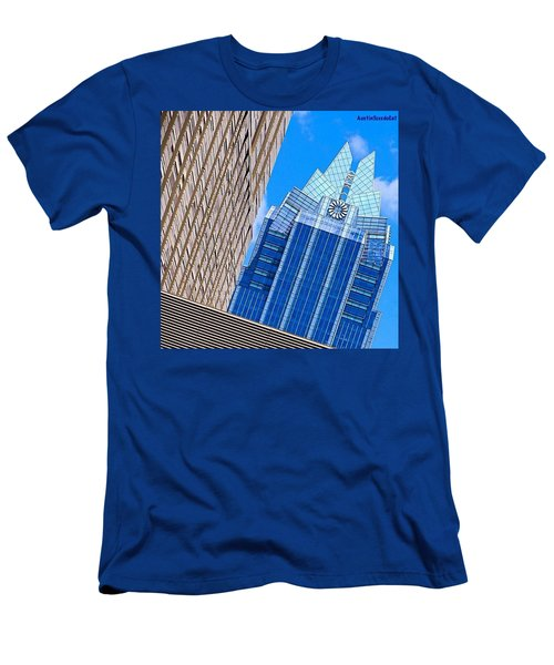 Lots Of #lines, #style And #texture Men's T-Shirt (Athletic Fit)