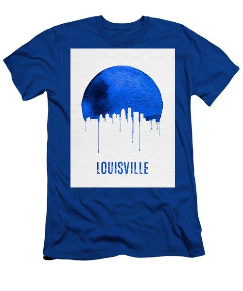 Louisville Skyline Blue Men's T-Shirt (Athletic Fit)