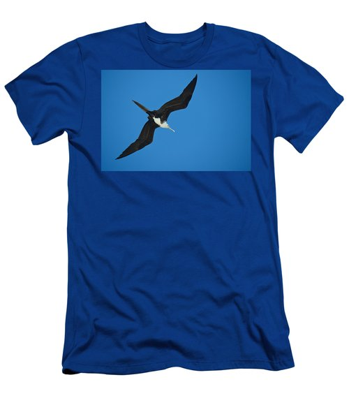 Low Angle View Of A Frigatebird Flying Men's T-Shirt (Athletic Fit)