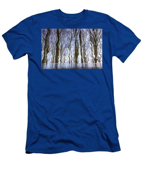 Magic Forest-26 Men's T-Shirt (Slim Fit)