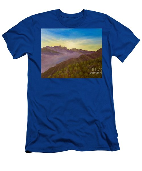 Majestic Morning Sunrise Men's T-Shirt (Athletic Fit)
