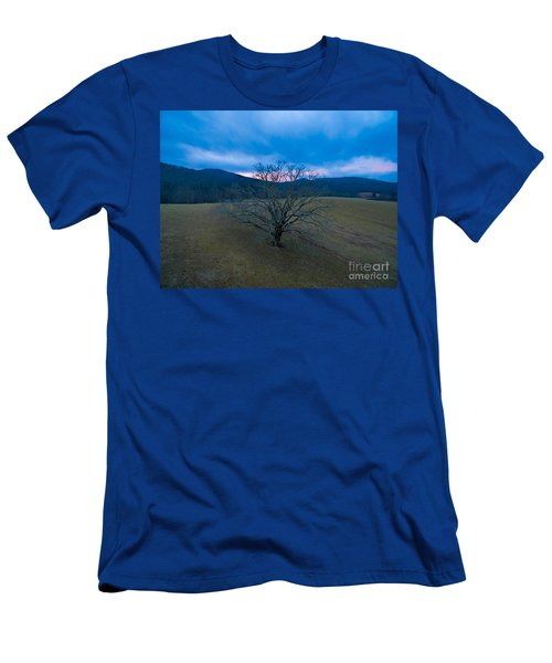 Majestical Tree Men's T-Shirt (Slim Fit) by Robert Loe