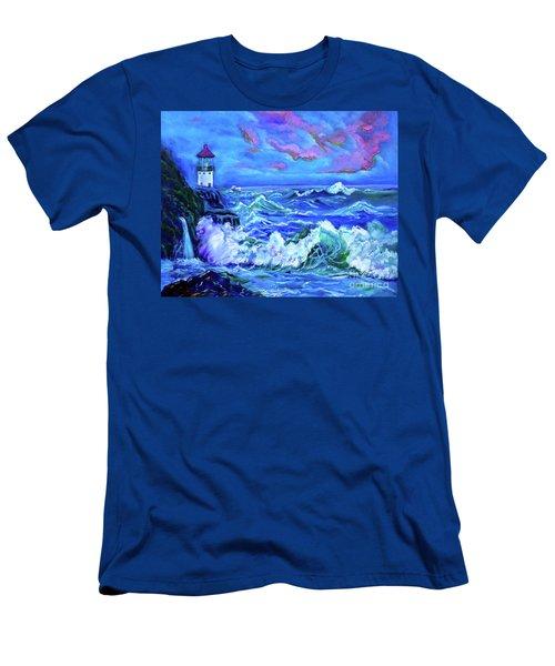 Makapuu Lighthouse 11 Jenny Lee Discount Men's T-Shirt (Athletic Fit)