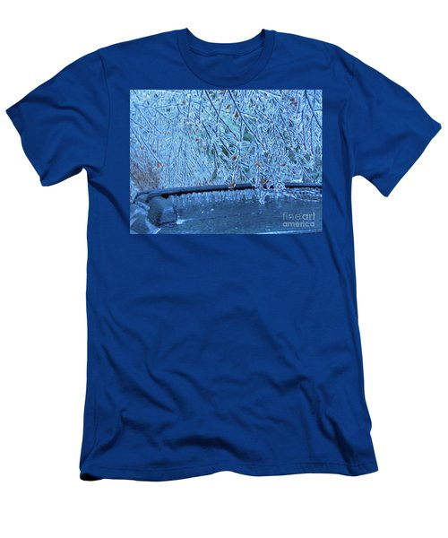 Malibu Icicles Men's T-Shirt (Athletic Fit)