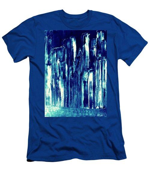 Manhattan Nocturne Men's T-Shirt (Athletic Fit)