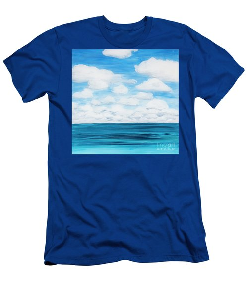 Marine Layer Breaking Up Men's T-Shirt (Athletic Fit)