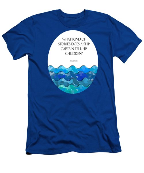 Maritime Humor For A Nursery Room Men's T-Shirt (Slim Fit) by Liesl Marelli