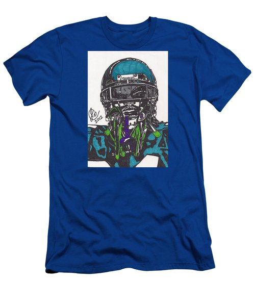 Marshawn Lynch 1 Men's T-Shirt (Slim Fit) by Jeremiah Colley