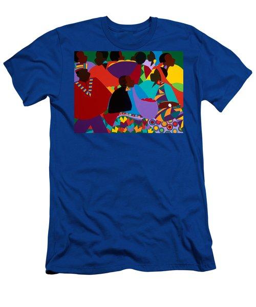 Masekelas Marketplace Congo Men's T-Shirt (Athletic Fit)