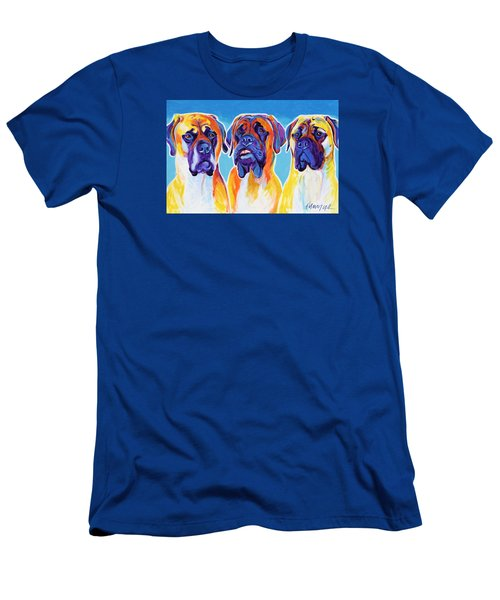 Mastiffs - All In The Family Men's T-Shirt (Athletic Fit)