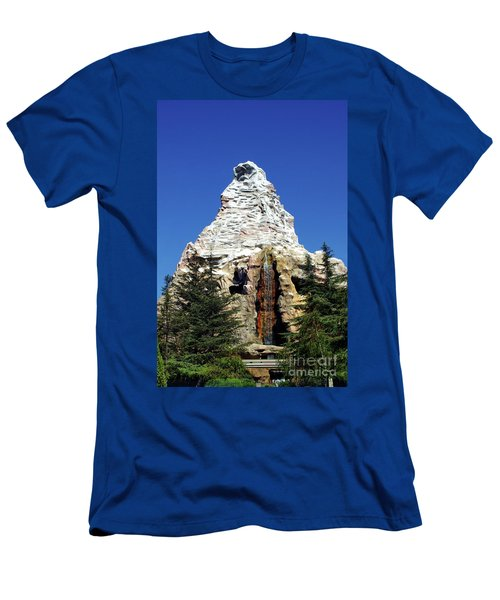 Matterhorn Disneyland Men's T-Shirt (Athletic Fit)