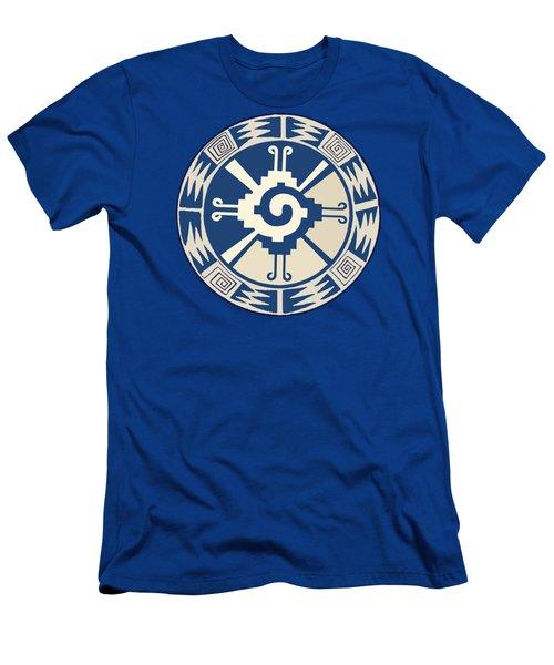 Mayan Hunab Ku Design Men's T-Shirt (Athletic Fit)