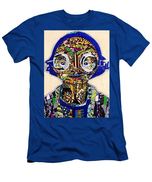 Maz Kanata Star Wars Awakens Afrofuturist Colection Men's T-Shirt (Athletic Fit)