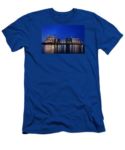 Mclane Stadium Evening Men's T-Shirt (Slim Fit) by Stephen Stookey