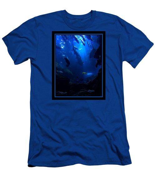 Men's T-Shirt (Slim Fit) featuring the photograph Me by Steven Lebron Langston