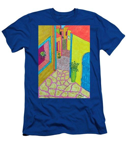Med Town Men's T-Shirt (Athletic Fit)