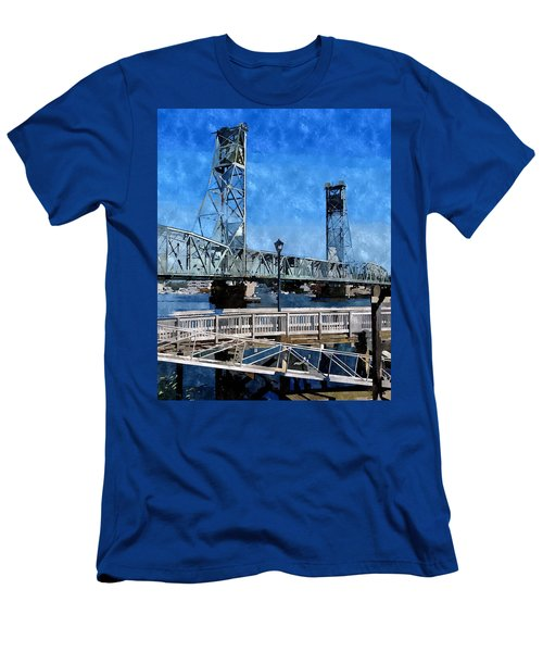 Memorial Bridge Mbwc Men's T-Shirt (Athletic Fit)
