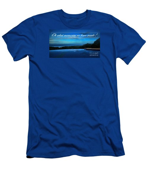 Memories We Have Made Men's T-Shirt (Slim Fit) by Pamela Blizzard