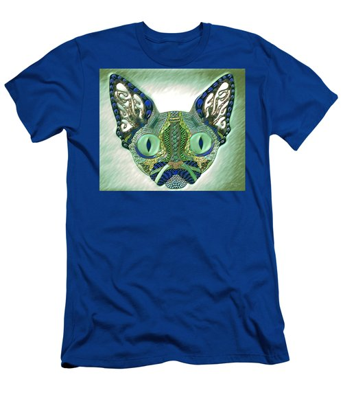 Meow Cat Men's T-Shirt (Athletic Fit)