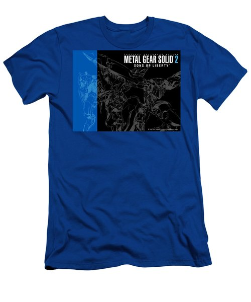 Metal Gear Solid 2 Sons Of Liberty Men's T-Shirt (Athletic Fit)