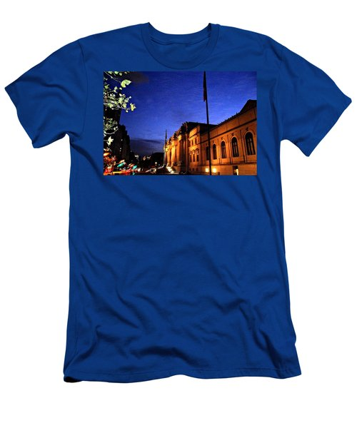 Metropolitan Museum Of Art Nyc Men's T-Shirt (Athletic Fit)