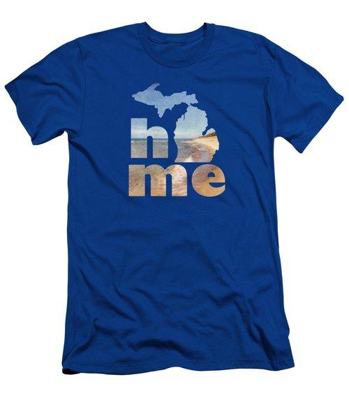 Michigan Home Men's T-Shirt (Athletic Fit)