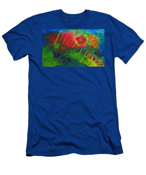 Midcity Magic Men's T-Shirt (Slim Fit) by Sandy McIntire