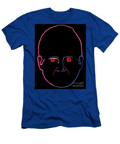 Men's T-Shirt (Athletic Fit) featuring the painting Midnight Rage by Marian Cates