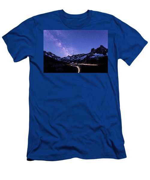 Milky Way At Washington Pass Men's T-Shirt (Athletic Fit)