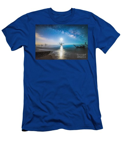 Milky Way Shore Men's T-Shirt (Athletic Fit)