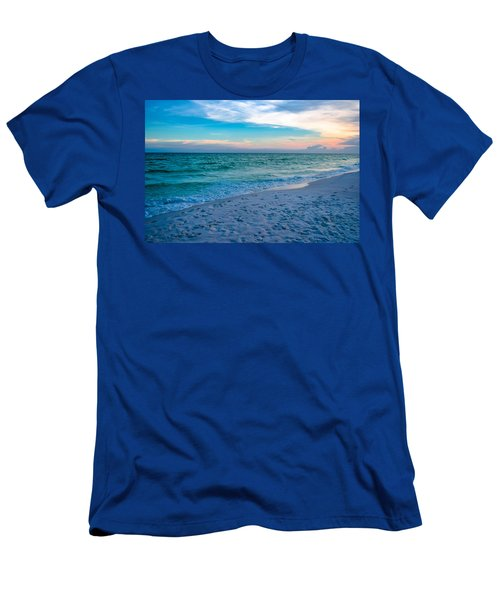 Miramar Blue  Men's T-Shirt (Athletic Fit)