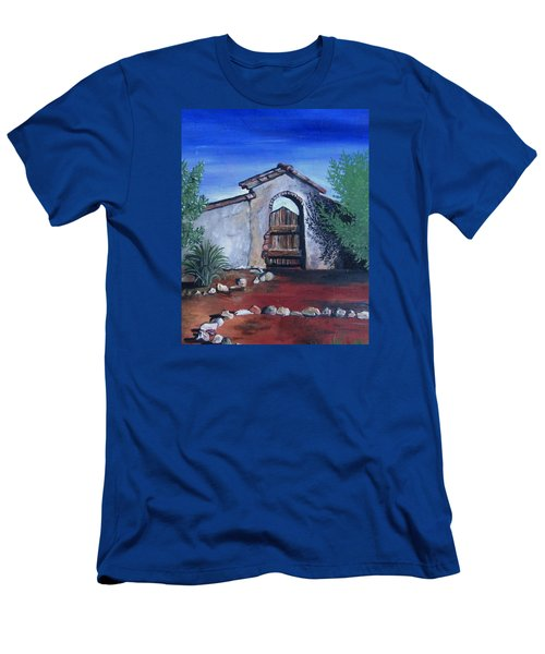 Rustic Charm Men's T-Shirt (Slim Fit) by Mary Ellen Frazee