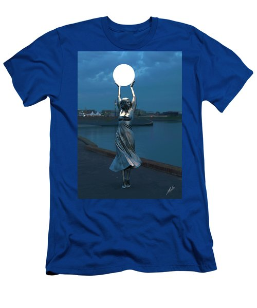 Modernist Streetlight 04 Men's T-Shirt (Athletic Fit)