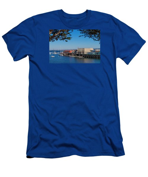 Monterey Men's T-Shirt (Slim Fit) by Derek Dean