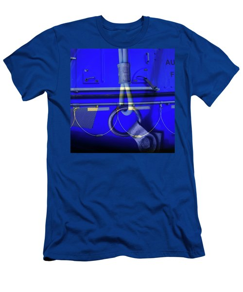 Men's T-Shirt (Slim Fit) featuring the photograph Mood Blue by Wayne Sherriff