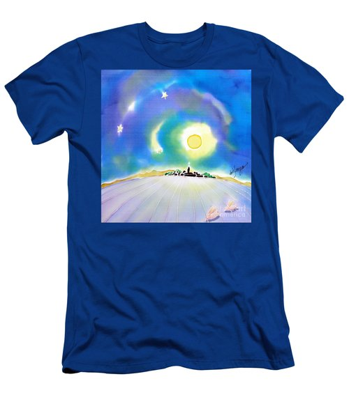 Moon Light Men's T-Shirt (Athletic Fit)