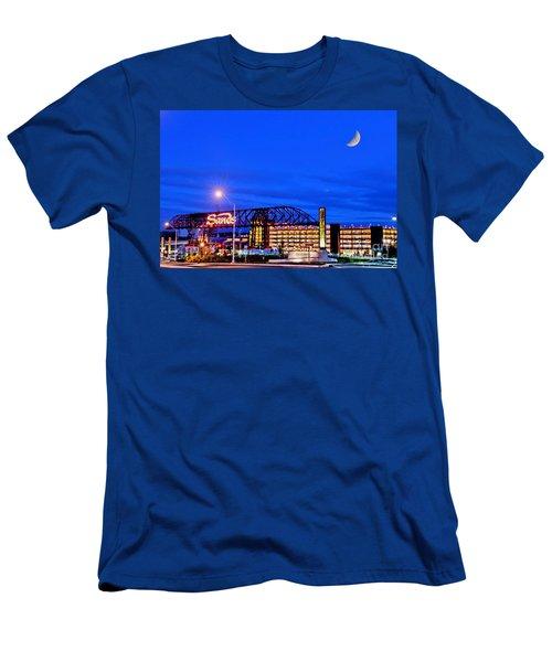 Moon Over Sands Men's T-Shirt (Athletic Fit)