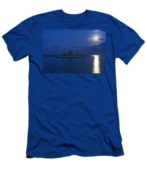 Moonlight Island Men's T-Shirt (Athletic Fit)