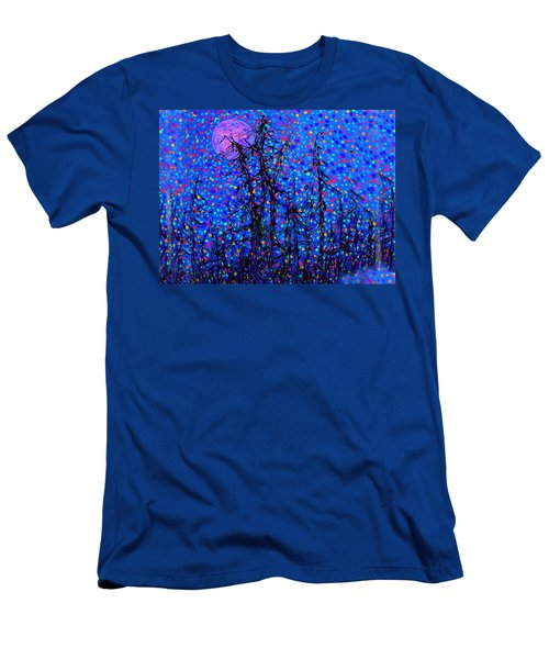 Moonlit Forest Men's T-Shirt (Athletic Fit)