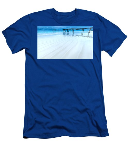 Morning Blues Men's T-Shirt (Athletic Fit)