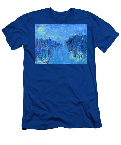 Morning On The Point Men's T-Shirt (Slim Fit) by Betty Pieper