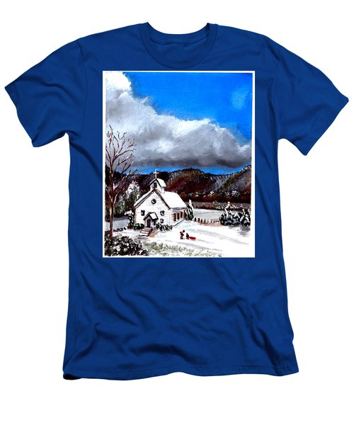 Morning Snow Ministry Men's T-Shirt (Athletic Fit)