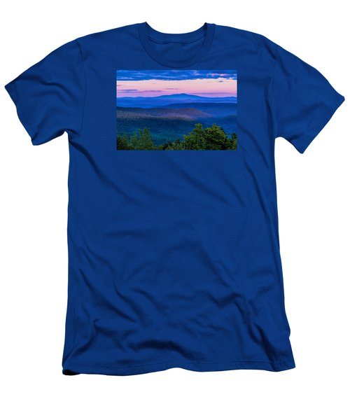 Men's T-Shirt (Slim Fit) featuring the photograph Mount Monadnock From Vermont by Tom Singleton